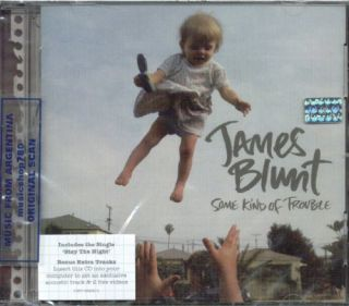 JAMES BLUNT, SOME KIND OF TROUBLE + BONUS EXTRA TRACKS AVAILABLE AT