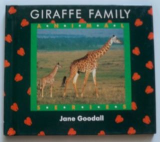 This is a Set of 7 of the 8 Books by Jane Goodall in her Animal Series