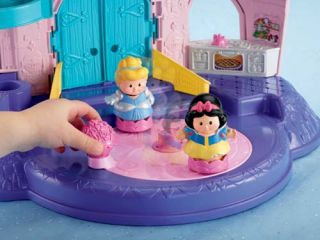 Fisher Price Little People Disney Princess Songs Palace Castle Bonus