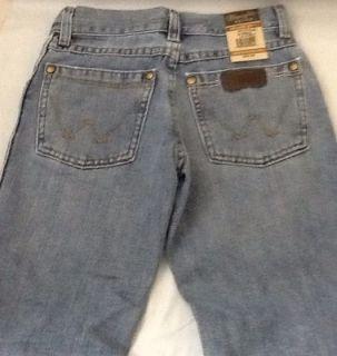 Boys Wrangler Retro Jeans Jason Aldean Relaxed Fit Boot Cut Western