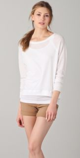 Vince Long Sleeve Raglan Tee