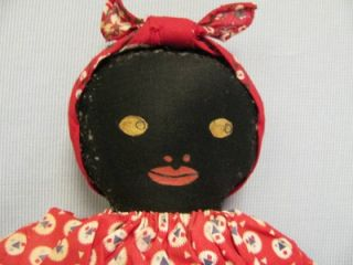 BLACK CLOTH DOLL from Jane Withers Collection with Provenance tag