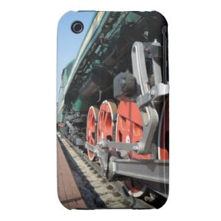 Steam locomotive wheels iPhone 3 Case Mate cases