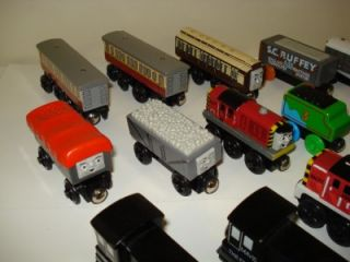 Thomas The Tank Friends Wood Trains Lot of 18 Giggling Monty Max Salty
