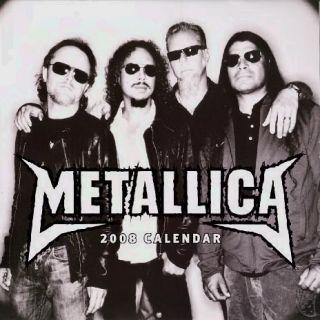 Metallica 2008 Death Magnetic Tour Concert Calendar