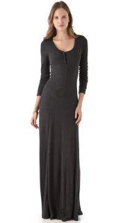 Heather Long Sleeve Rib Maxi Dress