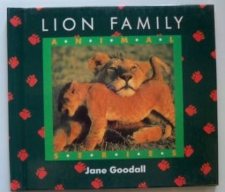 Animal Series Jane Goodall Set of Childrens Books New