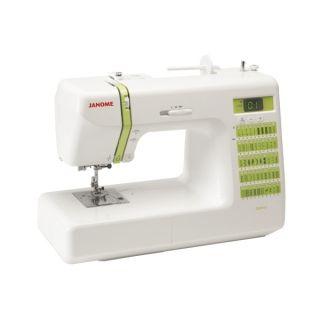 Janome Sewing Machine 2012 Computerized 50 Stitch Bonus Kit