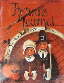 Journal Fall 1994 Jo Sonja Jansen Painting Pattern Book