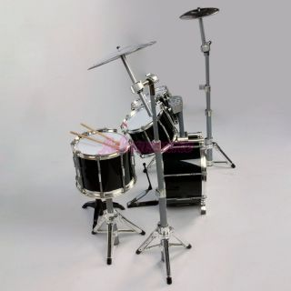 Brand New 5 Piece Jazz Drum Sets Kits Black