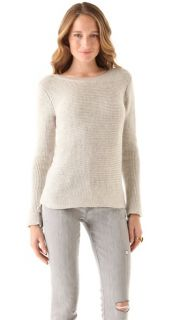 Maison Scotch Rib Knit Sweater
