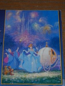 Cinderella Artist Series James Coleman Jigsaw Puzzle 1000 PC