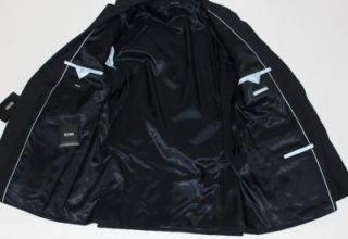 995 Hugo Boss The JAMES4 SHARP6 Size 40R 50 EU Suit in Navy Blue