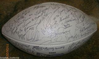 Dallas Cowboy 1995 Superbowl Team Autograph Football