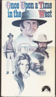 Upon a Time in the West VHS 1997 2 Tape Set Henry Fonda Jason Robards