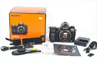 Sony Α Alpha A900 24 6 MP Digital SLR Camera Black Japan A 900