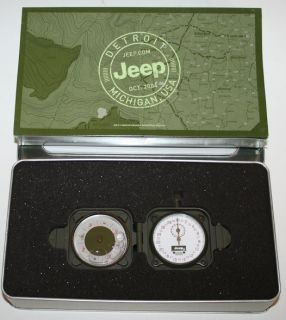 Jeep Cherokee Compass and Stopwatch Grand Cherokee Dealer Promo
