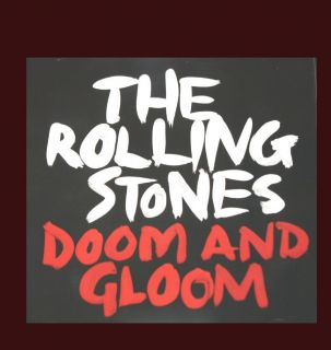 The ROLLING STONES BRAND NEW UNUSED PROMO CD DOOM AND GLOOM RADIO