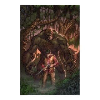 Monster Hunters Survival Guide #2A   Sasquatch Poster