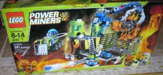 Lego Power Miners Lavatraz 381 Pcs 8191 SEALED