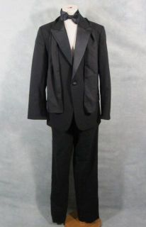 The Box Arthur Lewis Worn Stunt Double Tuxedo Cummerbund Tie Scarf