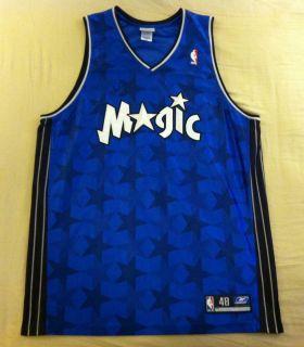 Sewn Signed Orlando Magic Jason Williams Reebok Jersey Size 48
