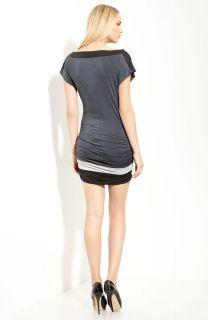 Authentic Jay Godfrey Monet Colorblock Jersey Dress Size 8