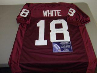 Jason White Autographed Oklahoma Football Jersey Hologram COA