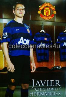 Poster Javier Chicharito Hernandez 22x32 Manchester United