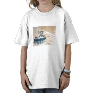 AMY LYNN West Coast Commercial Fishing Boat T shirts