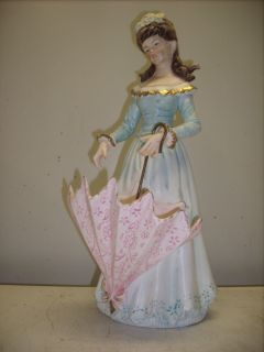 Antique Lenwile Ardalt Japan Porclelain Lady Figurines