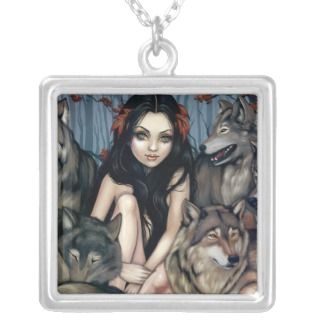 Raised by Wolves NECKLACE wolf gothic fantasy