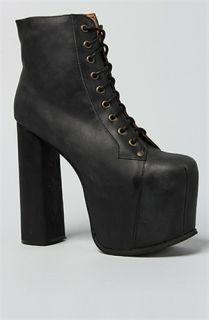 Karmaloop Jeffrey Campbell The Big Lita Shoe Black