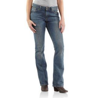 Carhartt Womens Original Fit Jean Boot Cut WB025 RTB
