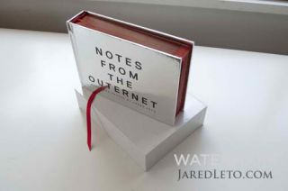 Jared Leto Notes from The Outernet Book Sold Out Limited Edition