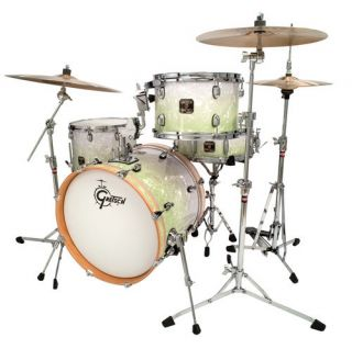 New Gretsch Catalina Club Jazz Drum Set Mint Green Fade