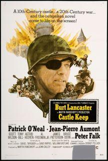 Castle Keep Original U s One Sheet Movie Poster