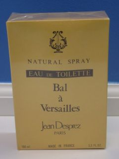 Perfume BAL A Versailles Jean Desprez Spray Bottle Paris 3 3 Oz
