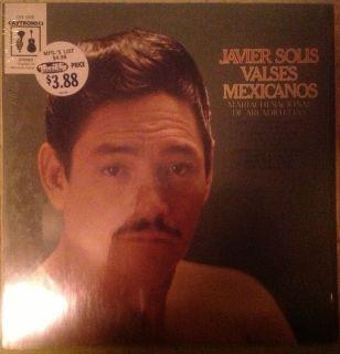 Javier Solis Valses Mexicanos LP Pedro Infante Jose Alfredo Jimenez