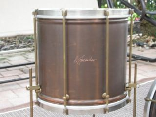 RARE Roberto Spizzichino Jazz Drum Set 18 Bass 12 14