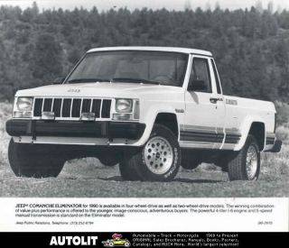 1990 Jeep COMANCHE Eliminator Pickup Truck Photo