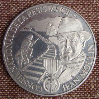 WW2 RARE 5 Commemorative Coins France Liberation Events Generals