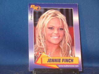Jennie Finch 2003 Rookie Review 72 Arizona Wildcats Softball