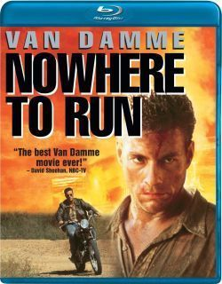 Nowhere to Run Blu Ray New Jean Claude Van Damme 014381716658