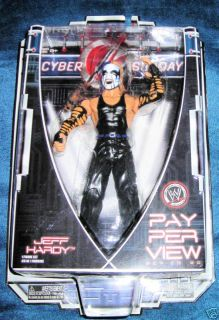 JEFF HARDY CYBER SUNDAY WWE WWF ECW RAW TNA FACE PAINT NEW FAST NEXT
