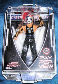 JEFF HARDY CYBER SUNDAY WWE WWF ECW RAW TNA FACE PAINT NEW FAST NEXT