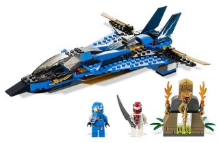 Lego Ninjago Jays Storm Fighter Jet Airplane 9442