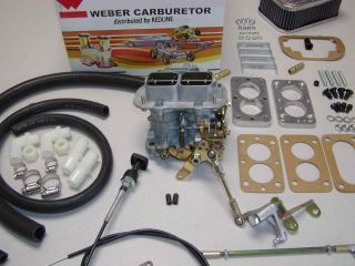 Weber Carburetor Kit Jeep Wrangler CJ7 4 2L 258 Carb