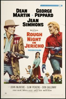 Rough Night in Jericho 1967 Original U s One Sheet Movie Poster