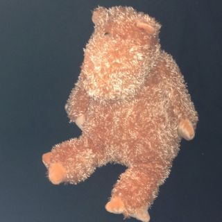 Jellycat Plush Bunglie Hippo Orange Stuffed Animal Toy